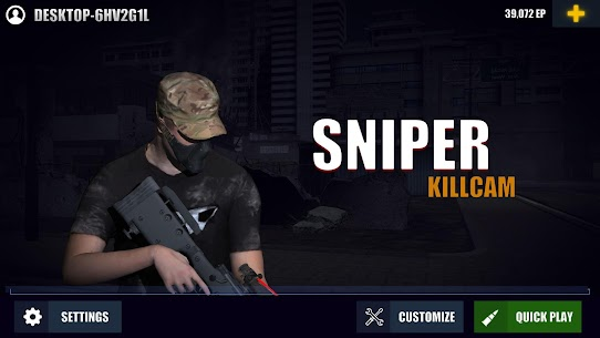 Sniper 3D: Killcam Hack for iOS and Android 1