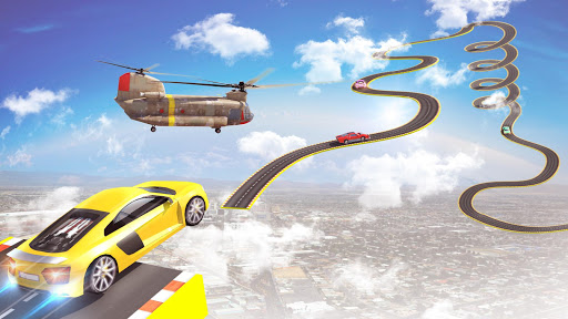 Mega Ramp Car Stunts Racing : Impossible Tracks 3D screenshots 17