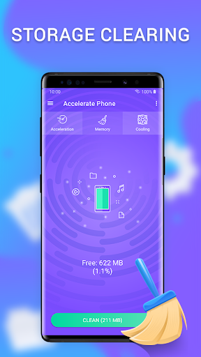 Cleaner - clean the phone, memory, cache & booster apktram screenshots 3