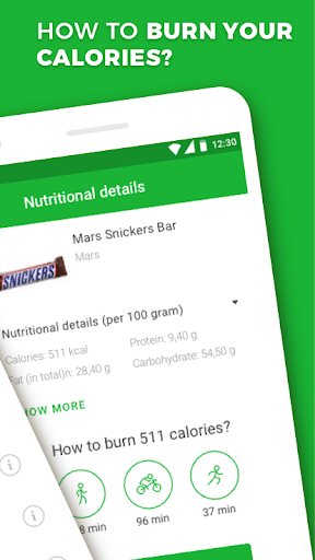 Calorie, Carb & Fat Counter 3.1.3 Screenshots 2