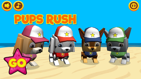 pups rush hack