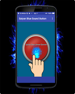 Saiyan Blue Sound Button 2