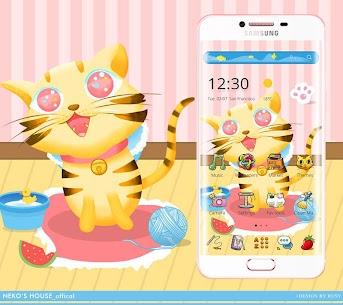 Cute Cartoon Leopard Bengal Cat House Theme 1.1.6 Latest MOD Updated 2