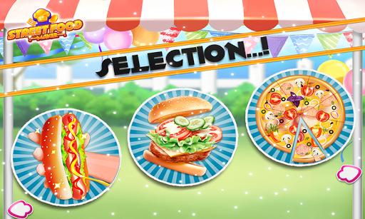Street Food Pizza Maker - Burger Shop Cooking Game 1.1 screenshots 2