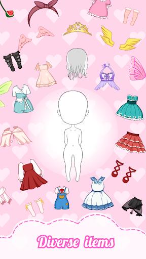 Chibi Dolls: Dress up Games & Avatar Creator 1.0.5.1 screenshots 1