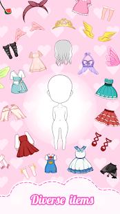 Chibi Dolls: Dress up Games & Avatar Creator 1.0.7 screenshots 1