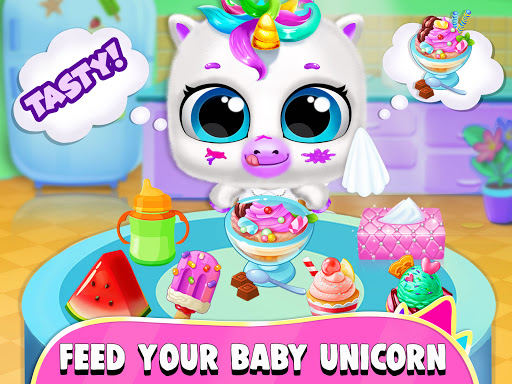 Pregnant Unicorn Mom And Baby Daycare 0.13 screenshots 11