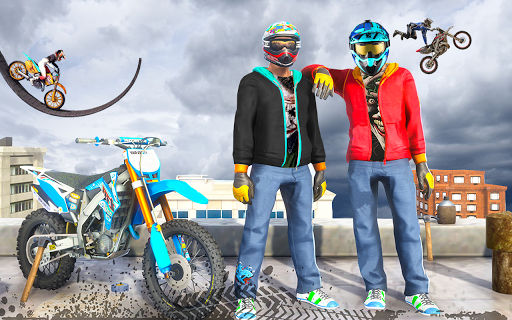 Mega Real Bike Racing Games - Free Games apkpoly screenshots 8
