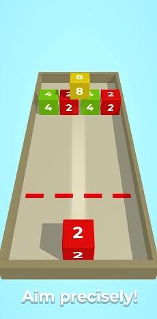 チェーンキューブ:2048 3Dマージゲームのおすすめ画像4