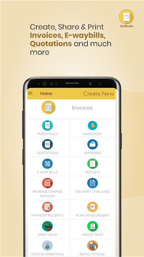 Easy Invoice Manager App by GimBooks 1.0.362 Screenshots 1