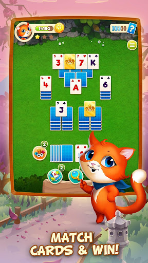 Solitaire Tour: Classic Tripeaks Card Games apkslow screenshots 3