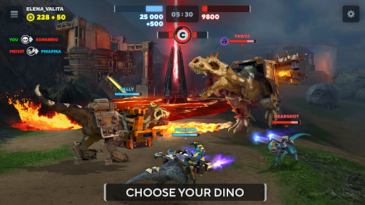 Dino Squad: TPS Dinosaur Shooter 0.10.1 screenshots 8