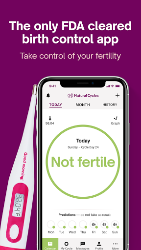 Natural Cycles - Birth Control App 4.0.6 Screenshots 1
