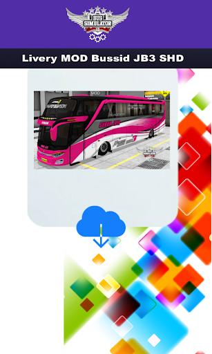 Livery MOD Bussid JB3 SHD  Screenshots 3