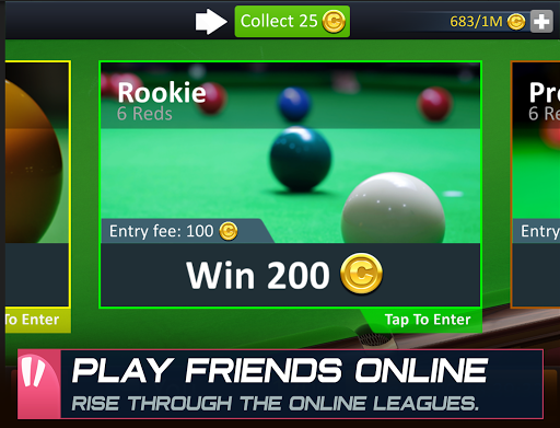 Snooker Stars - 3D Online Sports Game 4.9918 screenshots 12