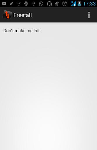 freefall screaming screenshot 2