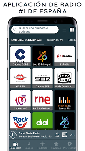 Radio Espau00f1a: Radio Online 2.3.62 screenshots 1