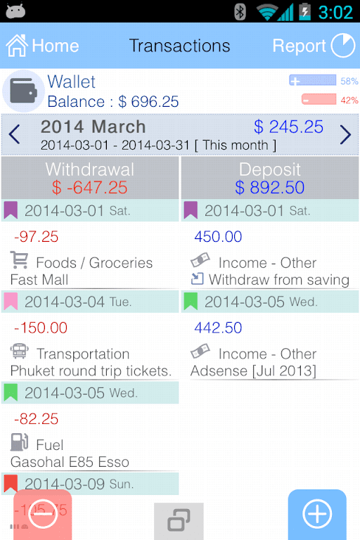 EvoWallet - Money Tracker [Premium]  poster 1