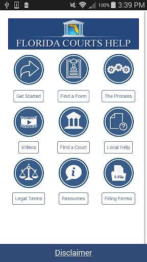 Florida Courts Help  screenshots 1