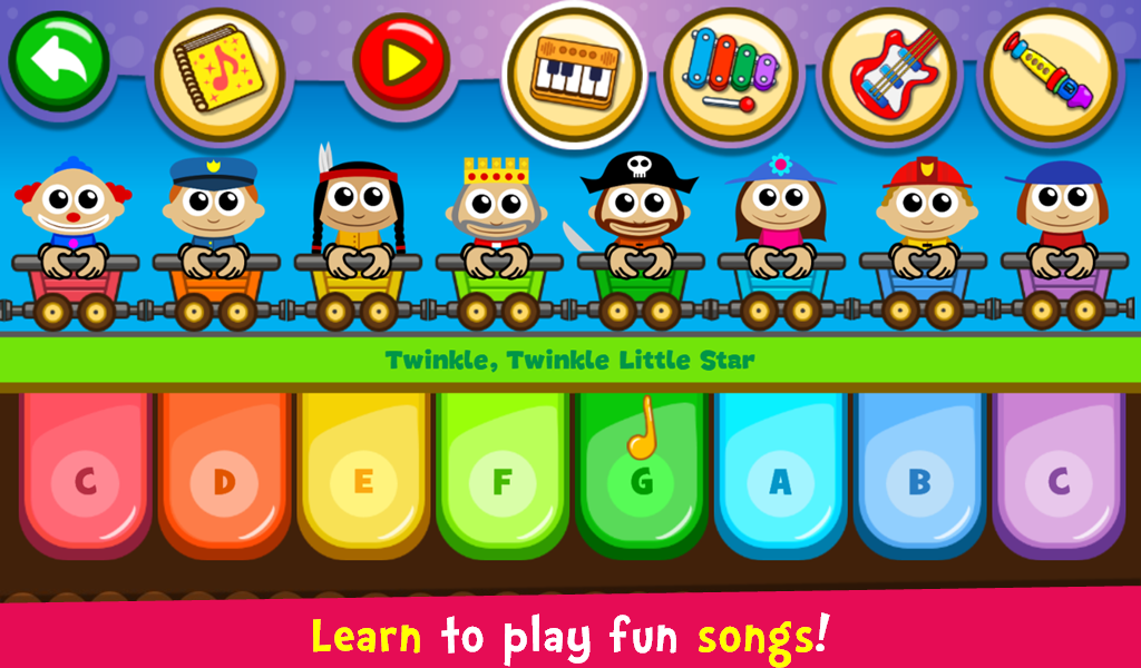 Piano Kids - Music & Songs  poster 1