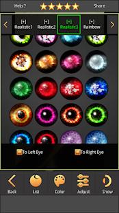Sharingan - Eyes And Hair Color Changer 1.4.1 Screenshots 13