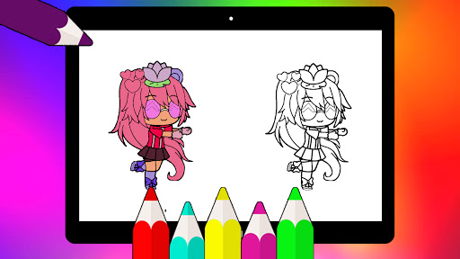 Coloring Pages for Gacha Club 2021 screenshots 11