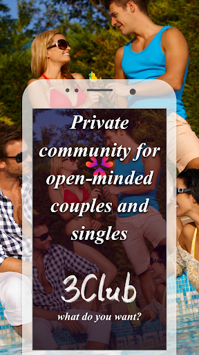 Threesome Dating Ads for Couples & Singles: 3Club  Screenshots 1
