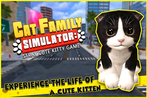 Cat Family Simulator: Stray Cute Kitty Game 10.1 screenshots 3