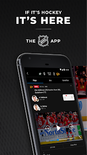 NHL App for PC 1