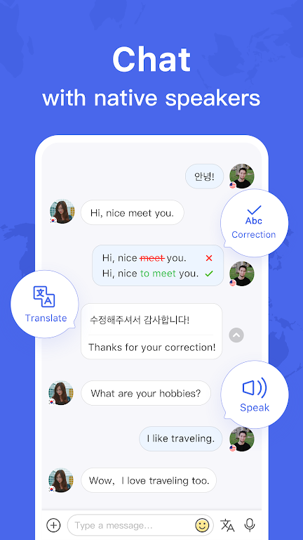 HelloTalk - Chat, Speak & Learn Languages for Free poster 0