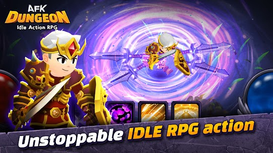 AFK Dungeon Mod Apk: Idle Action RPG (Unlimited Gold/Diamonds) 2