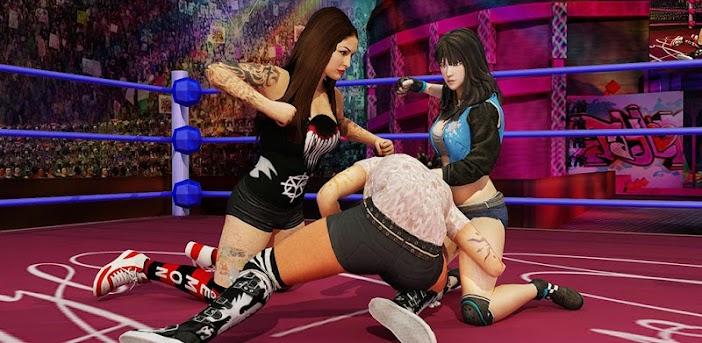 Bad Girls Wrestling Rumble: Frauen Kampfspiele