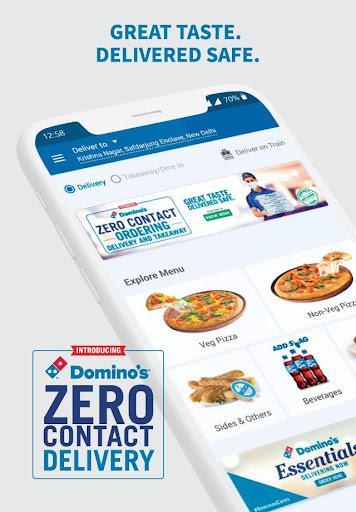 Domino's Pizza - Online Food Delivery App 9.2.45 Screenshots 1