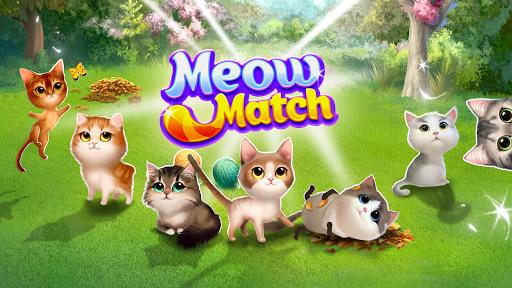 Meow Match: Cats Matching 3 Puzzle & Ball Blast Apkfinish screenshots 8