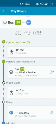 EasyWay public transport  screenshots 7