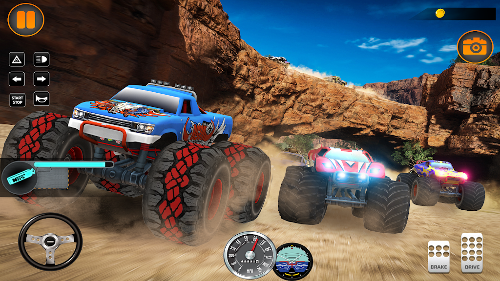 Monster Truck Off Road Racing 2020: Offroad Games  poster 1