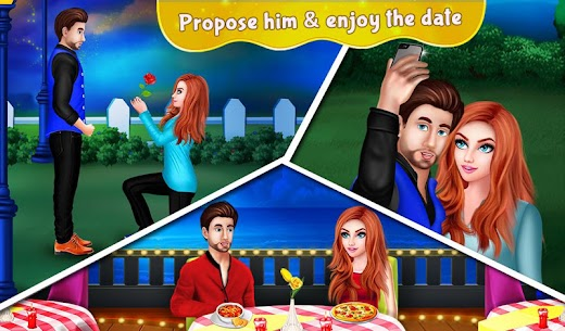 Nerdy Boy's First Love Crush game story 1.0.7 MOD Apk Download 2