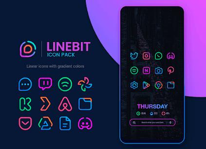 Linebit – Icon Pack MOD Apk 1.6.2 (Unlocked) 1