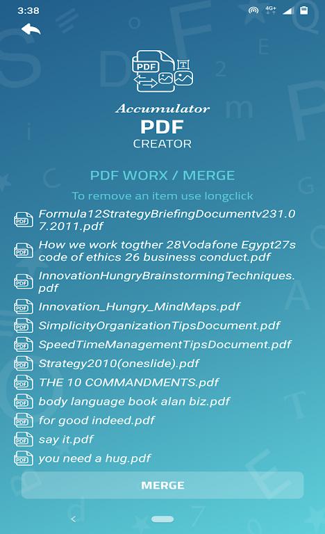 Accumulator PDF creator  poster 22