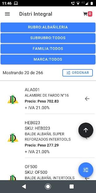 Distribuidora Integral Ferretería Sanitarios screenshot 1