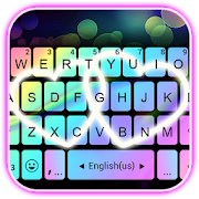 Rainbow Love Fonts Keyboard