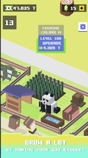Blocky Zoo Tycoon - Idle Clicker Game! 0.7 Screenshots 5
