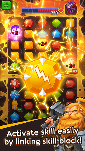 Duel Summoners - Puzzle & Tactic modavailable screenshots 3