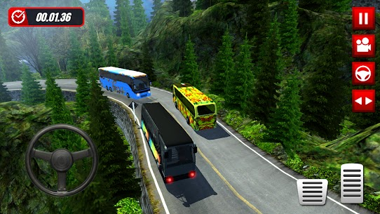 Hill Station Bus Driving Game [MOD Version] 4