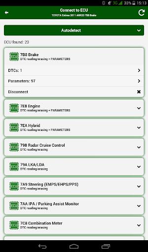 Doctor Hybrid ELM OBD2 scanner. MotorData OBD 1.0.8.33 Screenshots 13