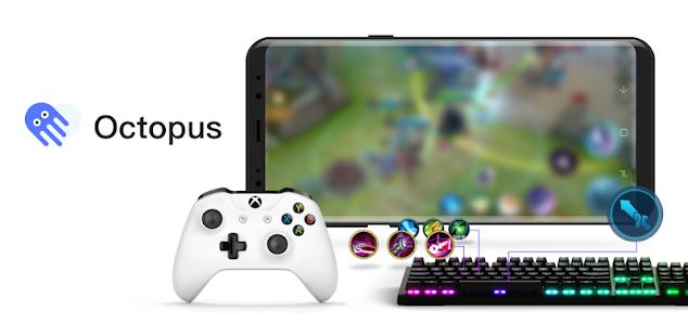 octopus - gamepad, mouse, keyboard keymapper hack