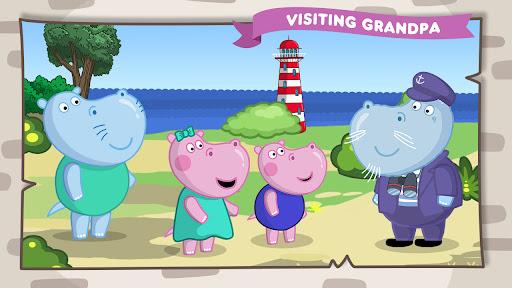 Hippo Adventures: Grandfather's Lighthouse apklade screenshots 1