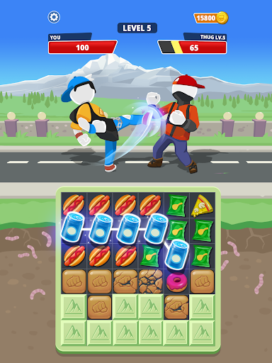 Match Hit - Puzzle Fighter  screenshots 14