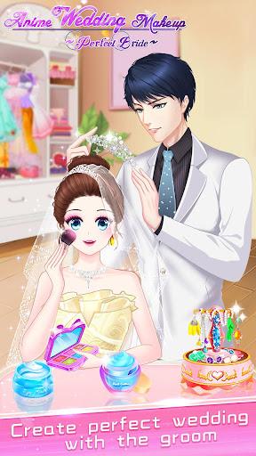 ud83dudc70ud83dudc92Anime Wedding Makeup - Perfect Bride 2.6.5052 screenshots 24