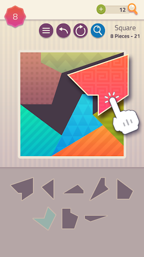 Polygrams - Tangram Puzzle Games 1.1.51 screenshots 1